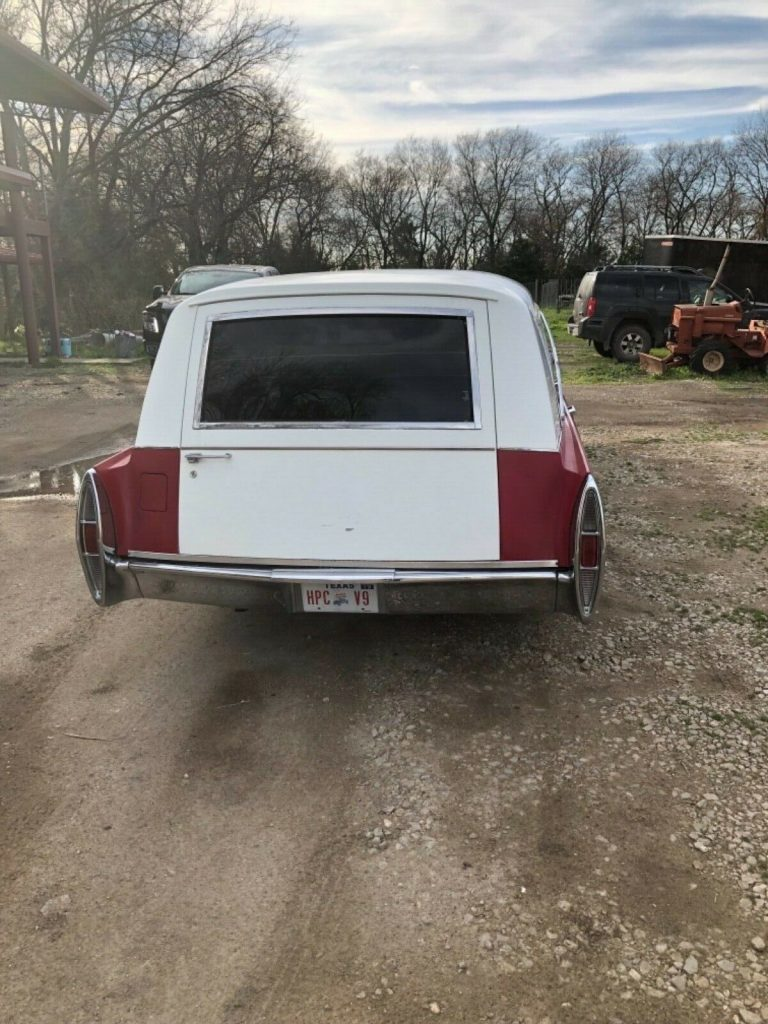 combined 1967 Cadillac Miller Meteor Duplex Hearse Ambulance