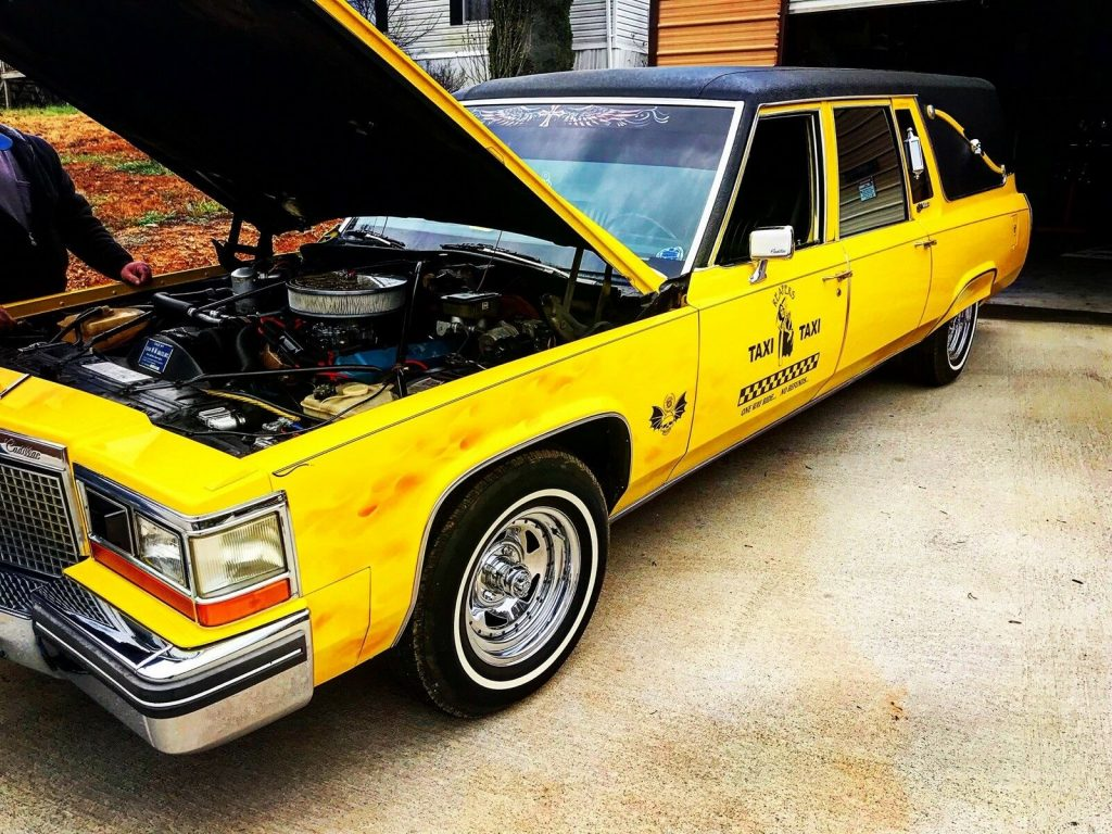 great running 1981 Cadillac hearse