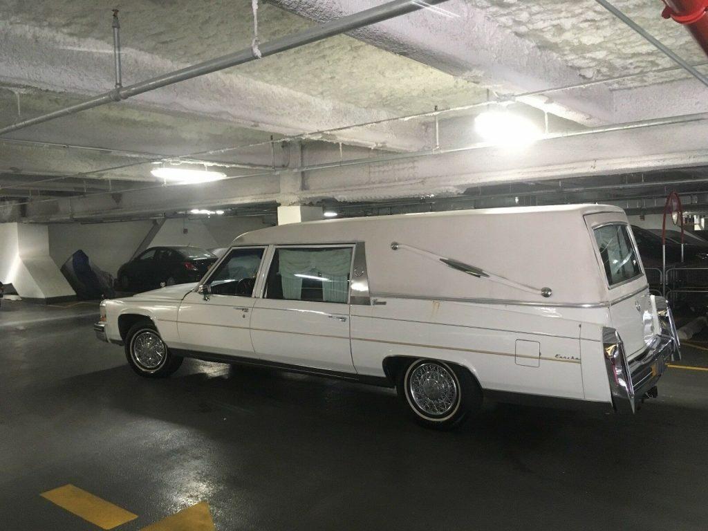 great shape 1984 Cadillac hearse