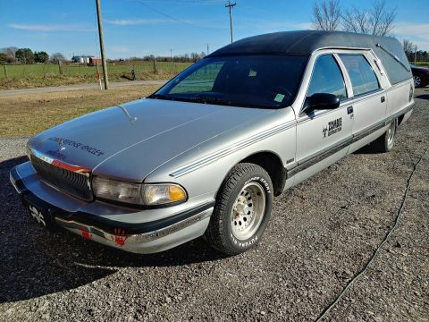 limo conversion 1996 Buick Roadmaster HEARSE for sale