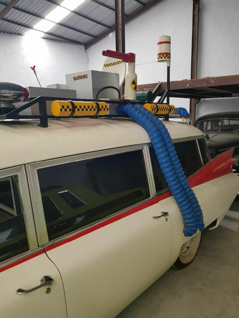 ecto 1 conversion 1960 Cadillac Fleetwood Miller Meteor Ambulance hearse