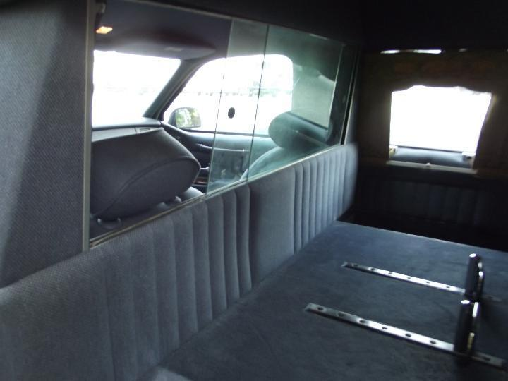 great shape 1997 Lincoln Town Car Hearse