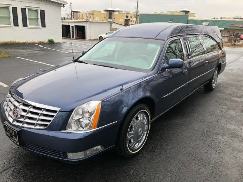 low miles 2009 Cadillac DTS hearse for sale
