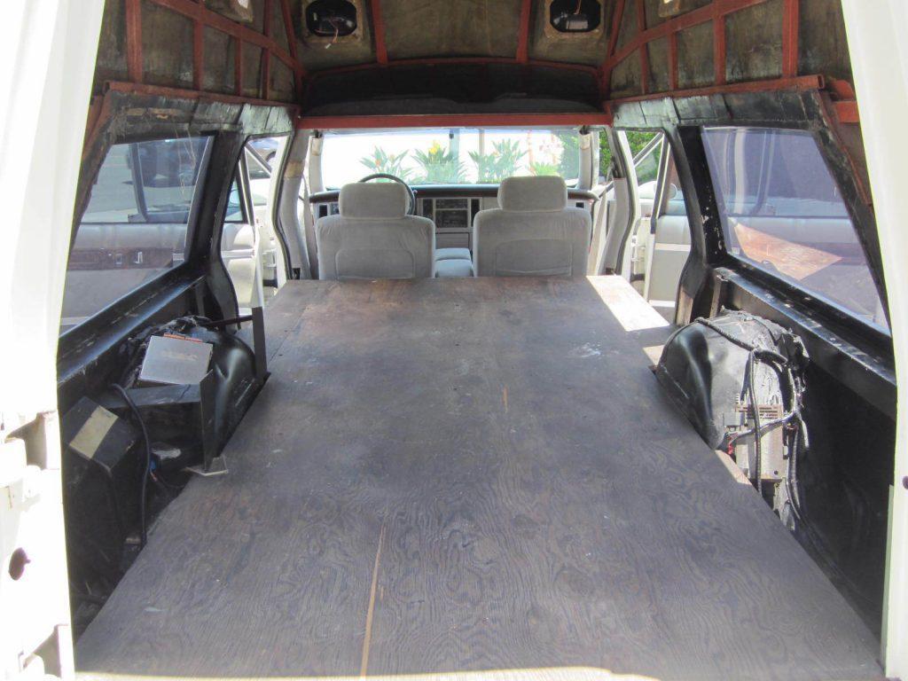 pristine shape 1993 Cadillac Fleetwood Ambulance Hearse