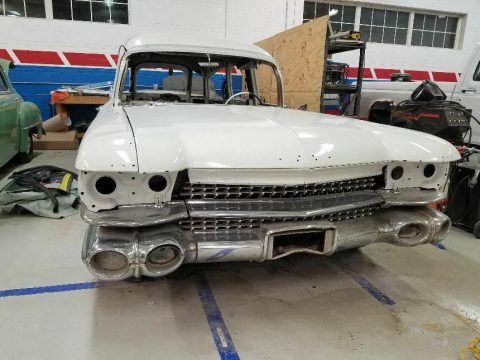 project 1959 Cadillac Eureka hearse for sale