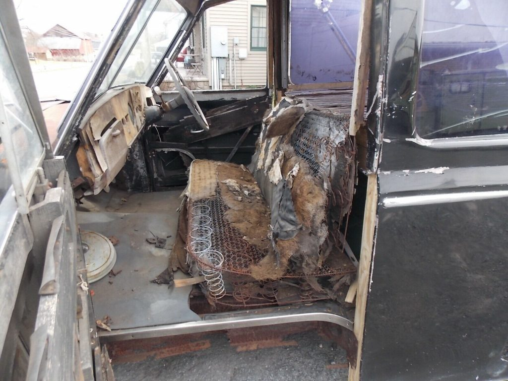 rare 1956 Austin Princess Hearse