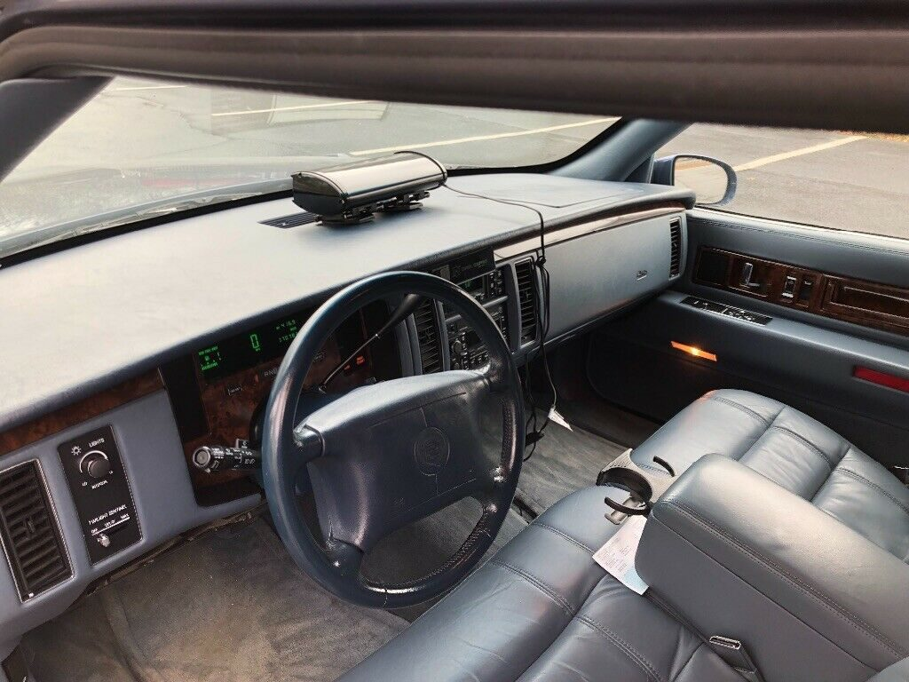 very clean 1996 Cadillac Fleetwood S&S Masterpiece Hearse