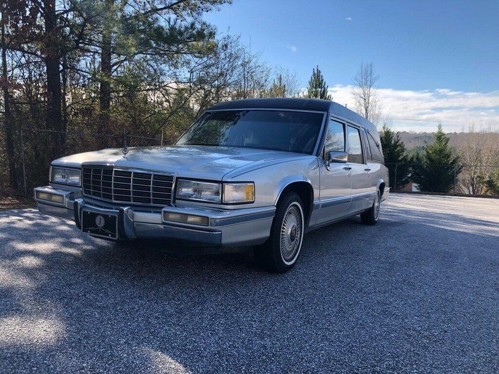 very nice 1991 Cadillac DeVille Hearse
