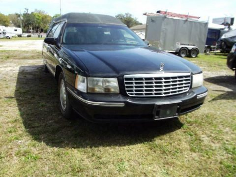 Excellent shape 1997 Cadillac Hearse for sale