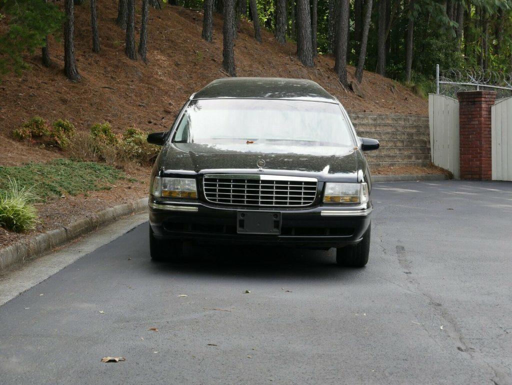 fantastic shape 1999 Cadillac DeVille hearse