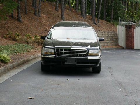 fantastic shape 1999 Cadillac DeVille hearse for sale