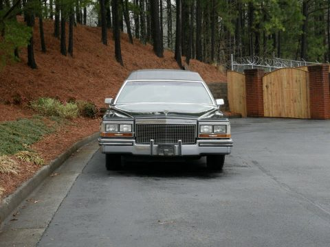 good shape 1987 Cadillac Brougham hearse for sale