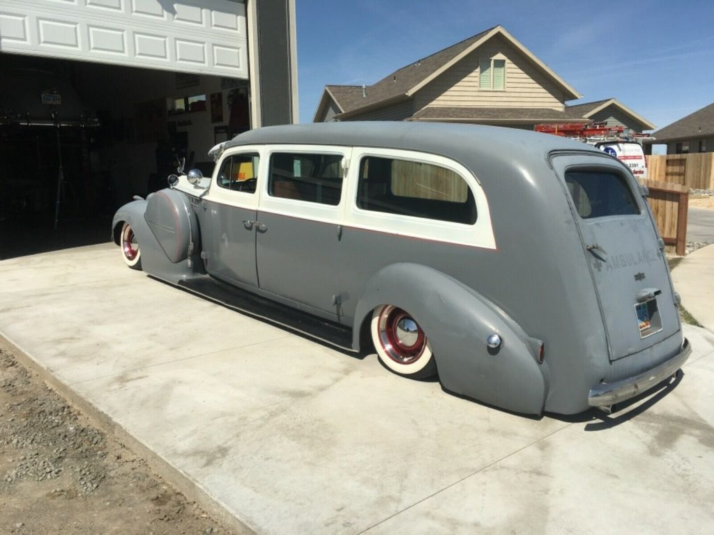 low rider 1940 Packard 200 hearse
