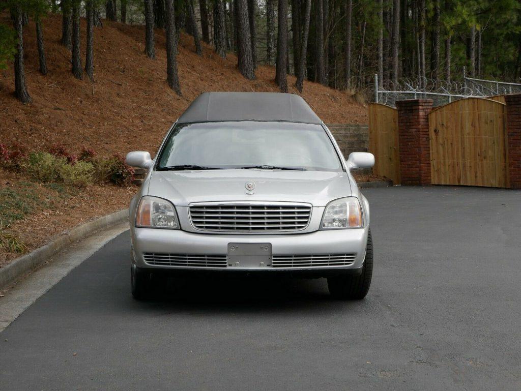needs service 2000 Cadillac DeVille hearse
