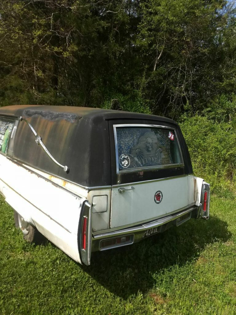 needs TLC 1974 Cadillac Commercial Chassis hearse
