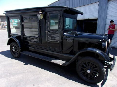 restored 1927 Dodge Pickup hearse for sale