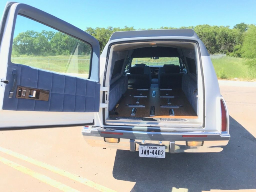 serviced 1994 Buick Roadmaster Hearse