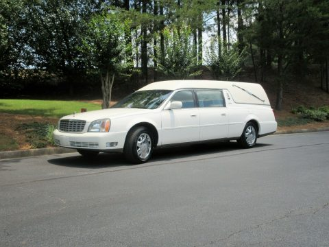 low miles 2002 Cadillac Eureka Hearse for sale
