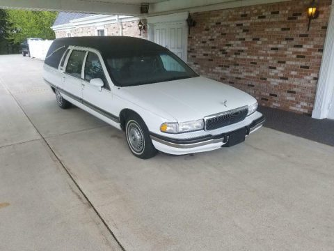 maintained and garaged 1994 Buick Roadmaster hearse for sale