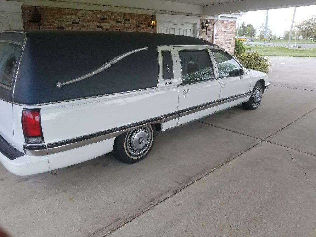 maintained and garaged 1994 Buick Roadmaster hearse