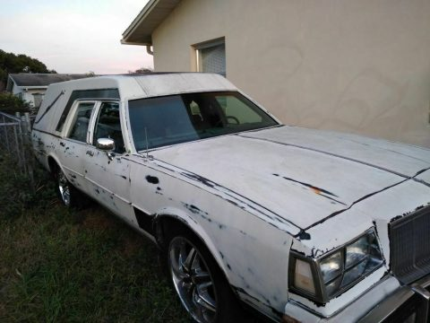 needs TLC 1988 Buick LeSabre hearse for sale