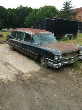 rare 1959 Cadillac Superior Royale Hearse for sale