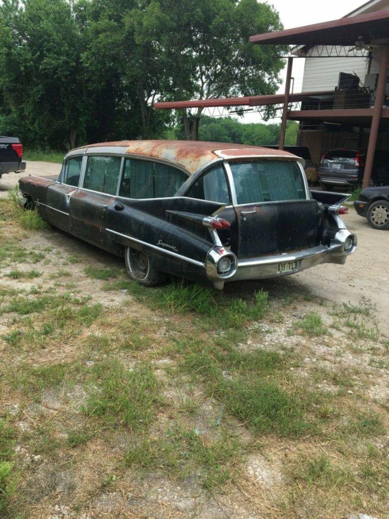 rare 1959 Cadillac Superior Royale Hearse