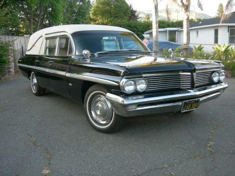rare 1962 Pontiac Superior Coach Bonneville hearse for sale
