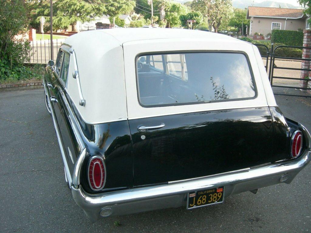 rare 1962 Pontiac Superior Coach Bonneville hearse