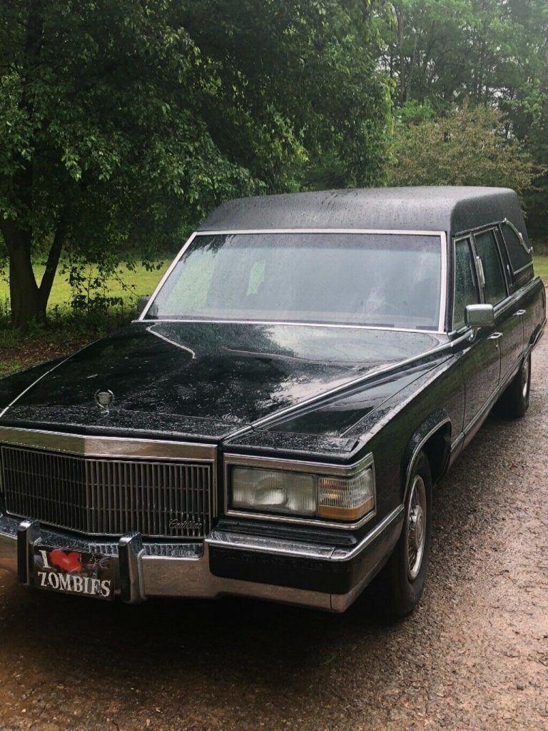 renewed 1992 Cadillac Brougham hearse