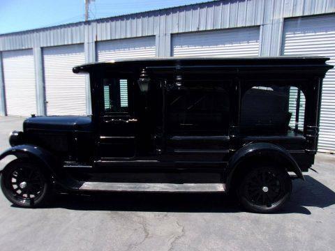 restored 1927 Dodge hearse for sale