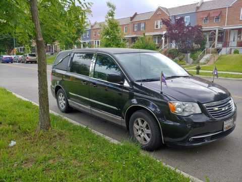 serviced 2012 Chrysler Town & Country hearse for sale