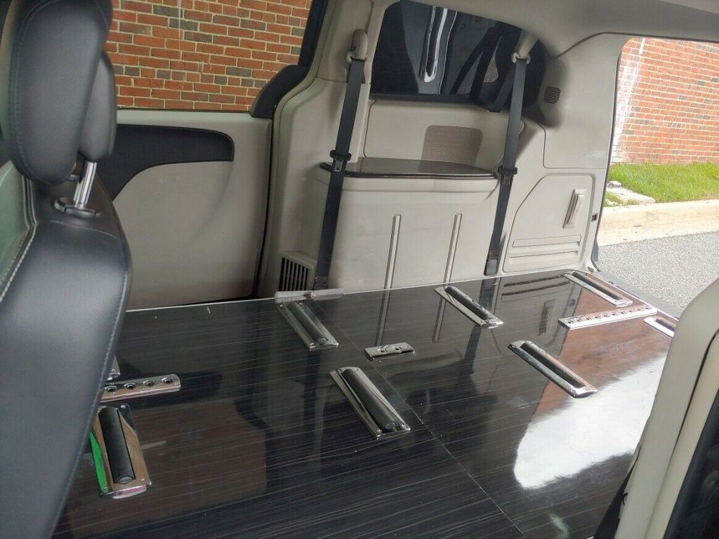 serviced 2012 Chrysler Town & Country hearse