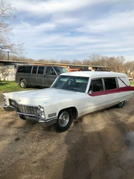 solid 1967 Cadillac Hearse for sale