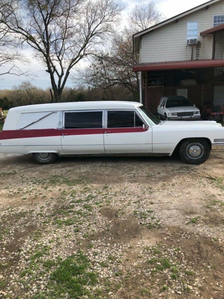 solid 1967 Cadillac Hearse