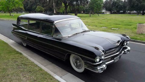 ambulance combination 1959 Cadillac S&S Combination Hearse for sale