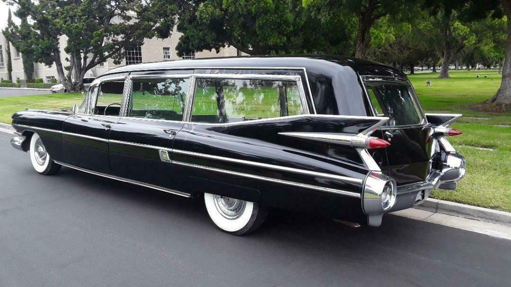 ambulance combination 1959 Cadillac S&S Combination Hearse