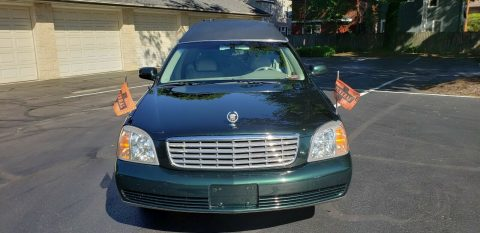 excellent shape 2001 Cadillac Eagle Hearse for sale