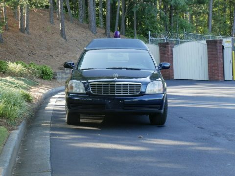 great shape 2000 Cadillac DeVille Hearse for sale