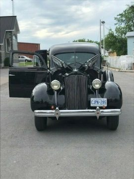 low miles 1938 Henney Packard Nu 3 Way Hearse for sale