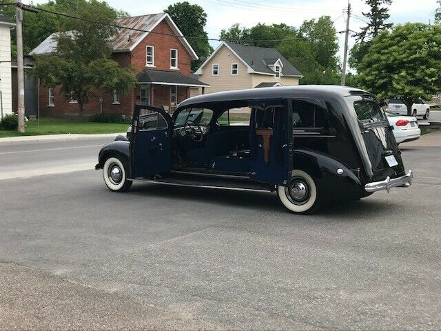 low miles 1938 Henney Packard Nu 3 Way Hearse