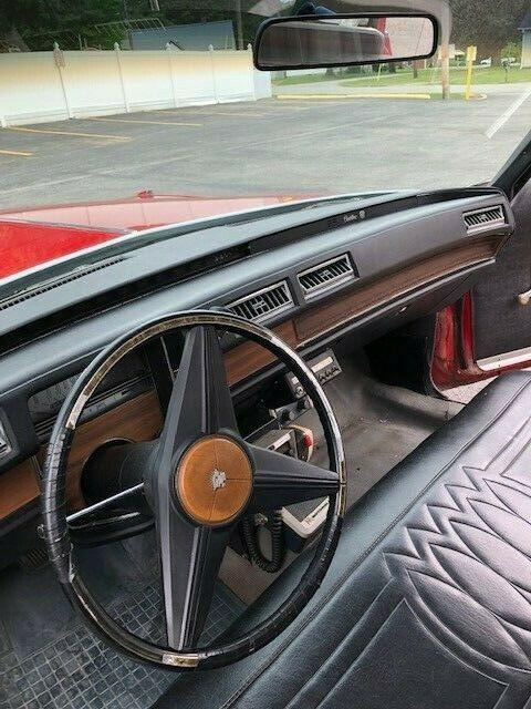 low miles 1974 Cadillac Fleetwood hearse