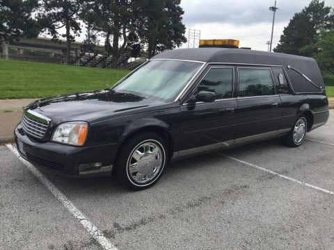 low miles 2002 Cadillac S&S Hearse for sale