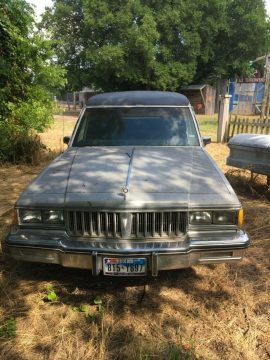needs engine 1985 Pontiac Parisienne hearse for sale