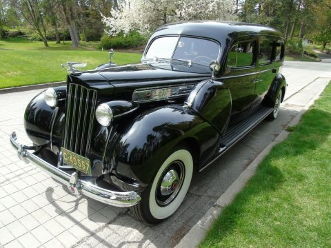 rare 1939 Packard Model 1705 Custom Hearse for sale