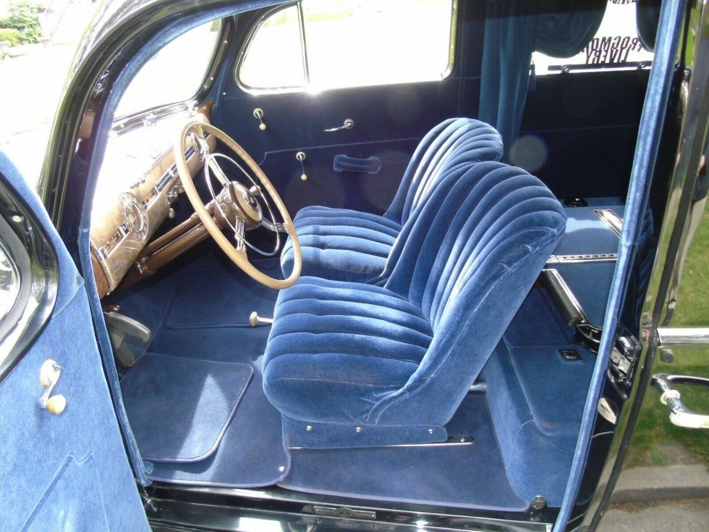 rare 1939 Packard Model 1705 Custom Hearse