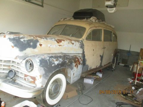 rare 1948 Cadillac hearse for sale