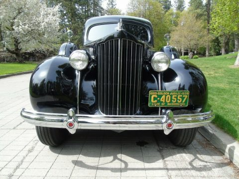 restored 1939 Packard Model 1705 Custom Hearse for sale