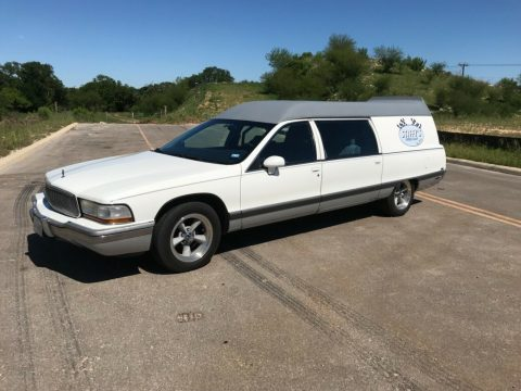 serviced 1994 Buick Roadmaster hearse for sale