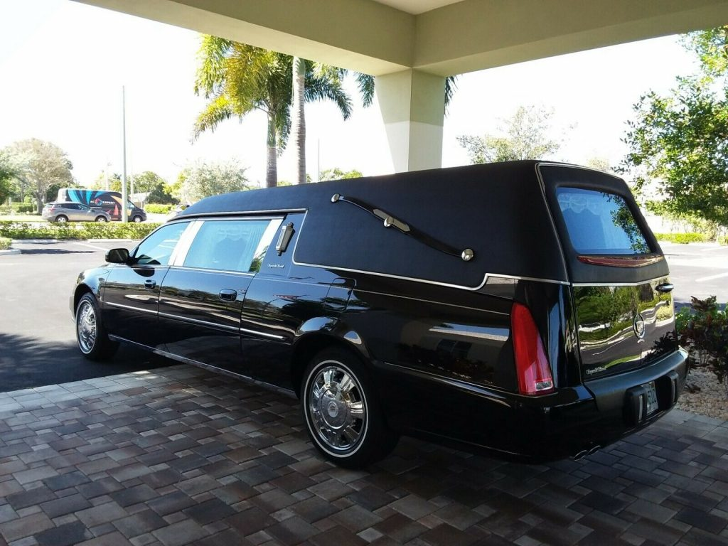 very nice 2010 Cadillac DTS Hearse